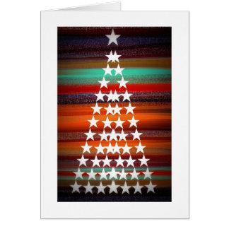 Navajo-Weihnachtsbaum Karte