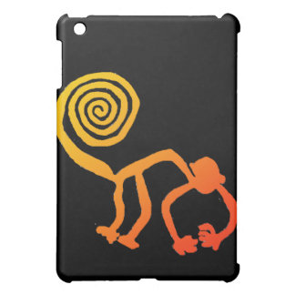 Nazca Affe im Feuer iPad Mini Hülle
