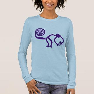 Nazca Affe Langarm T-Shirt