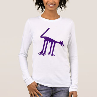 Nazca Hund Langarm T-Shirt