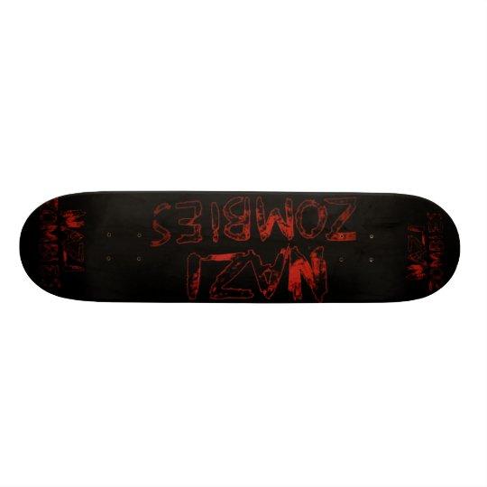 Nazizombies! Skateboard Brett