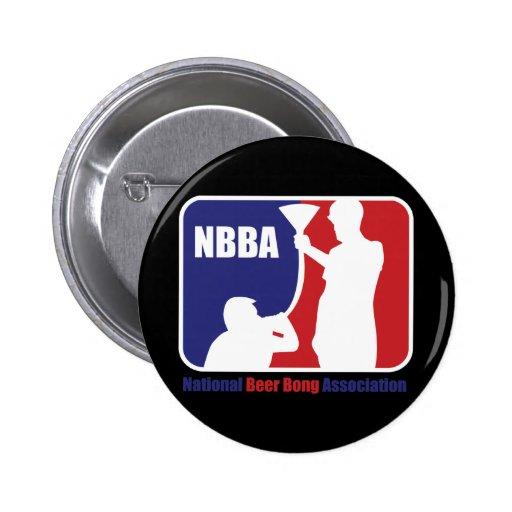 NBBA, Nationatl Bier Bong Vereinigung Button