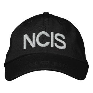 NCIS BESTICKTE BASEBALLCAPS