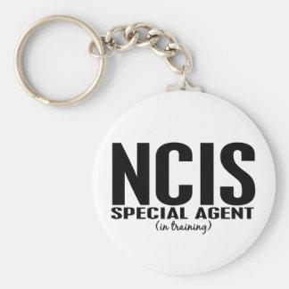 NCIS spezieller Agent in Training 1 Standard Runder Schlüsselanhänger