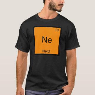 Ne - Nerd-lustiger Chemie-Element-Symbol-T - Shirt