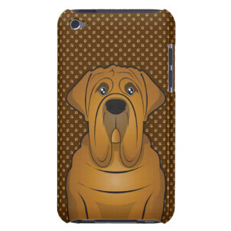 Neapolitanische Mastiff-HundeCartoon-Tatzen Barely There iPod Etuis
