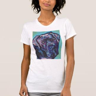 neapolitanische Mastiff-HundePop-Kunst T-Shirt