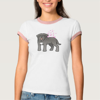 Neapolitanische Mastiff-Liebe T-Shirt