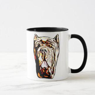 Neapolitanische Mastiff-Tasse Tasse