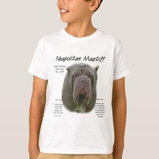 Neapolitanischer Mastiff-(tawny) Geschichtsentwurf T-Shirt