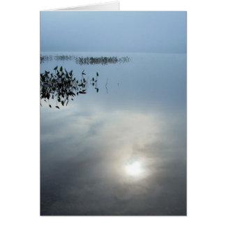 Nebel am Morgen Karte