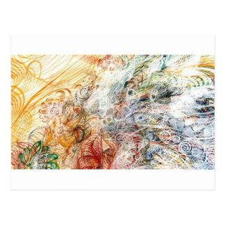 Nebel des Geistreichs Postkarte