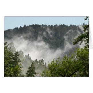 Nebel-Steigen Karte