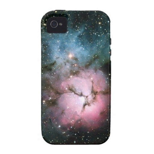 Nebelfleck hat coole Wissenschaft Galaxie-Hipster  Case-Mate iPhone 4 Cover