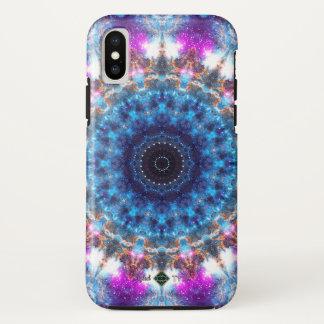 Nebelfleck-Mandala iPhone X Hülle