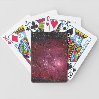 Nebelfleck NGC 6523 der Lagune-M8 Bicycle Spielkarten