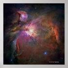 Nebelfleck Orion Poster
