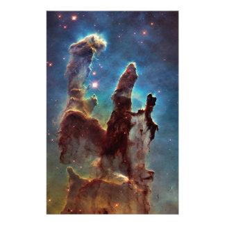 Nebelfleck-Säulen HDRs Eagle der Schaffung Briefpapier