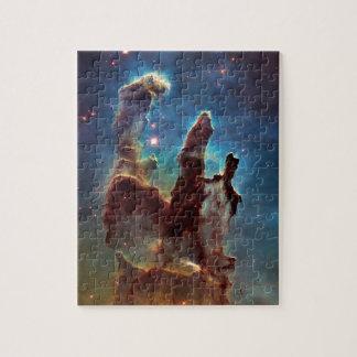 Nebelfleck-Säulen HDRs Eagle der Schaffung Puzzle