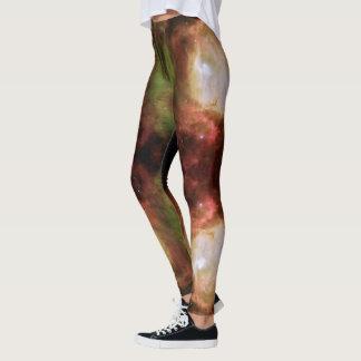 Nebelfleck-Stern-Göttin-Beine Leggings