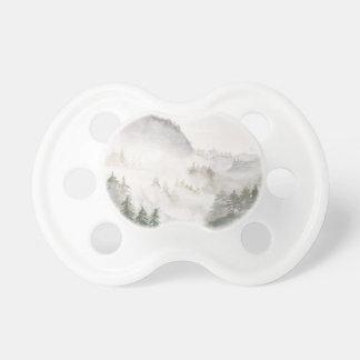 Nebelhafte Berge Schnuller