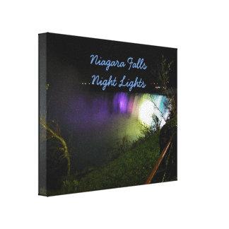Nebelhafte Lichter Niagara Falls Leinwanddruck