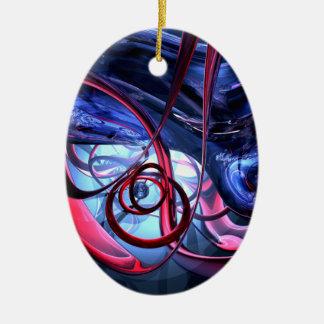 Nebelhafte Traum-abstrakte Verzierung Weinachtsornamente