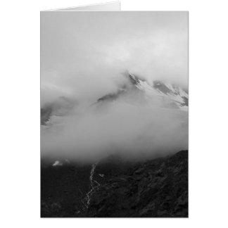 Nebelhafter Berg Karte
