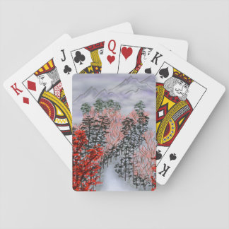nebelhafter Herbst Kartendeck