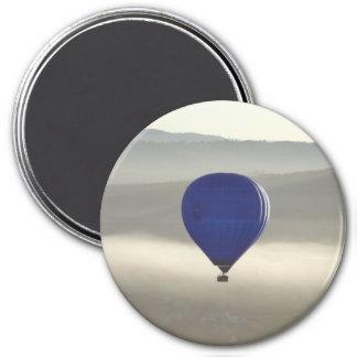 Nebelhafter Morgen-großer runder Magnet Runder Magnet 7,6 Cm