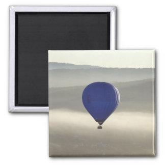 Nebelhafter Morgen-Quadrat-Magnet Quadratischer Magnet