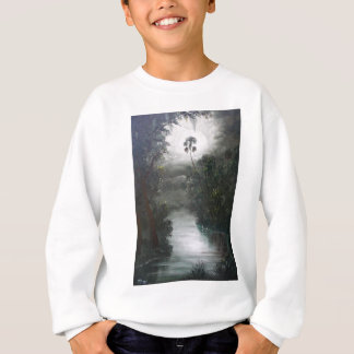 Nebelhaftes Fluss-Moos Floridas Sweatshirt