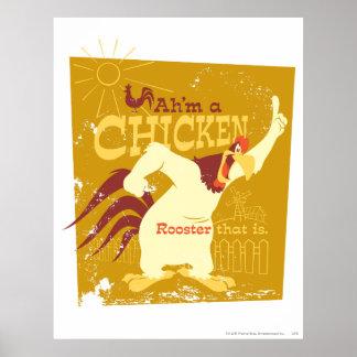 Nebelhorn Ah'm ein Huhn Plakatdrucke