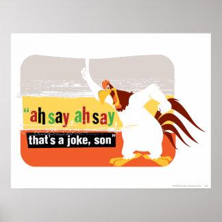 Nebelhorn, das ein Witz ist, Sohn Poster