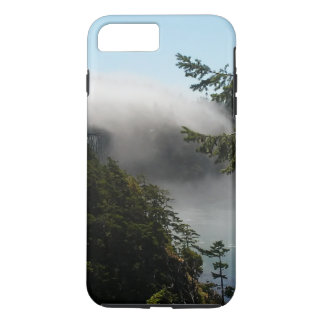 Nebeliger Durchlauf-Telefon-Kasten iPhone 8 Plus/7 Plus Hülle