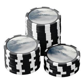 Nebeliger Wald Pokerchips
