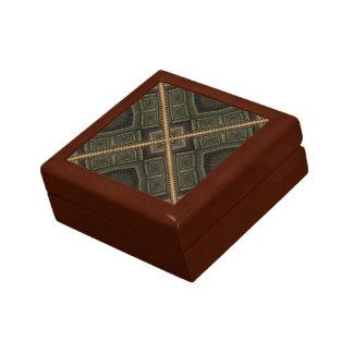 Nebeneinanderstellung Kleine Quadratische Schatulle