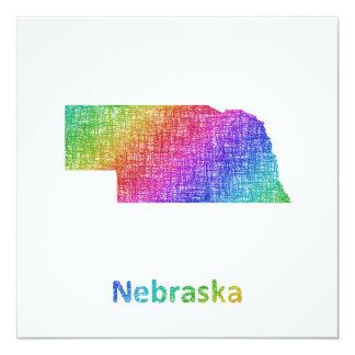 Nebraska Karte