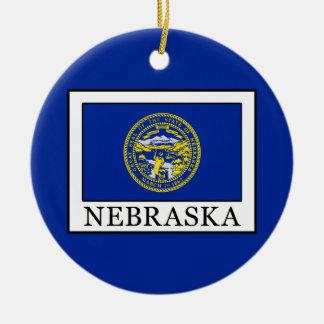 Nebraska Keramik Ornament