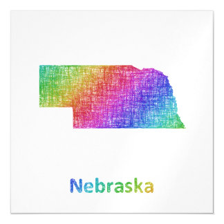 Nebraska Magnetische Karte