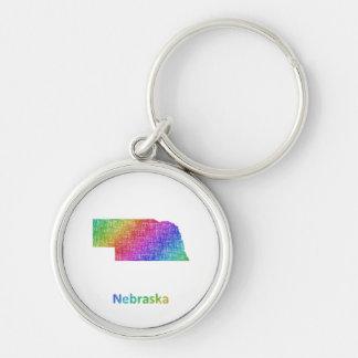 Nebraska Schlüsselanhänger
