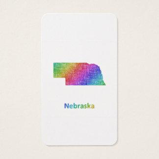 Nebraska Visitenkarte