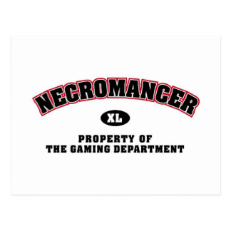 Necromancer-Abteilung Postkarte