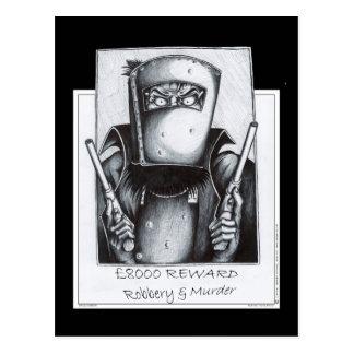 Ned Kelly: Gewollt Postkarte