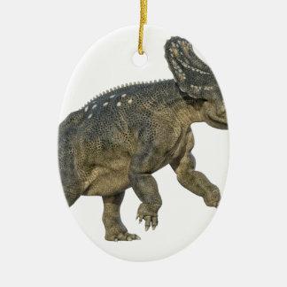 Nedoeratops Dinosaurier, der für eine Gebühr sich Keramik Ornament