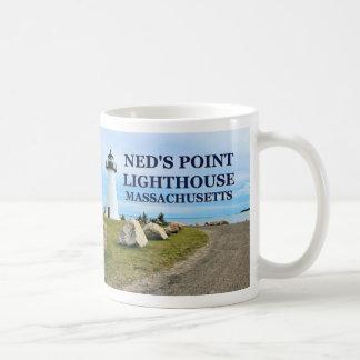Neds Punkt-Leuchtturm, Massachusetts-Tasse Kaffeetasse