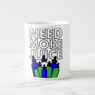 Need More Juice - Vaper-Mug Jumbo-Tasse