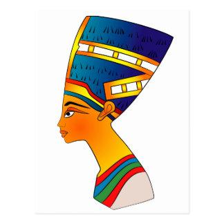 Nefertiti Postkarte