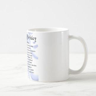 Neffe-Gedicht - 16. Geburtstag Kaffeetasse