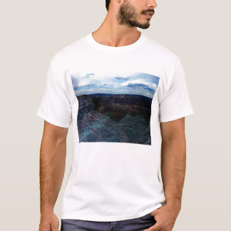 Negativer Grand Canyon und heller Himmel durch KLM T-Shirt